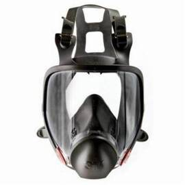 3M™ 051138-54159 6000 Reusable Full Facepiece Respirator, L, Dark Gray