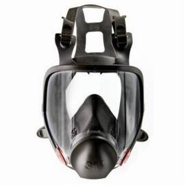 3M™ 051138-54146 6000 Reusable Full Facepiece Respirator, M, Dark Gray