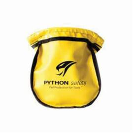 3M DBI-SALA Fall Protection Parts Pouch, Small, Series: Python Safety®, For Use With: Belt or Harness Attachment, Vinyl, Yellow