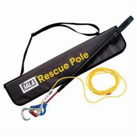3M DBI-SALA Fall Protection Rescue Pole, For Use With: Self-Rescue Detachable Descent Device, Specifications: 2.16 to 8.66 ft Extension Pole, Aluminum, Black