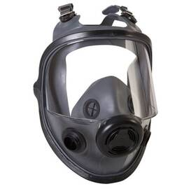 North® By Honeywell 54001 5400 Full Facepiece Respirator With 4-Strap Headband, M/L, Black