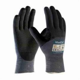 ATG® MAXICUT® ULTRA™ 44-3455/M HIGH PERFORMANCE UNISEX CUT RESISTANT GLOVES, M, NITRILE WITH MICROFOAM GRIP COATING, ENGINEERED YARN, CONTINUOUS KNIT WRIST CUFF, RESISTS: ABRASION, CUT, PUNCTURE AND TEAR, ANSI CUT-RESISTANCE LEVEL: A3