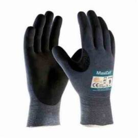 ATG® MAXICUT® ULTRA™ 44-3745/XXXL HIGH PERFORMANCE UNISEX CUT RESISTANT GLOVES, 3XL, NITRILE WITH MICROFOAM GRIP COATING, ENGINEERED YARN/FIBER, CONTINUOUS KNIT WRIST CUFF, RESISTS: ABRASION, CUT, PUNCTURE AND TEAR, ANSI CUT-RESISTANCE LEVEL: A3