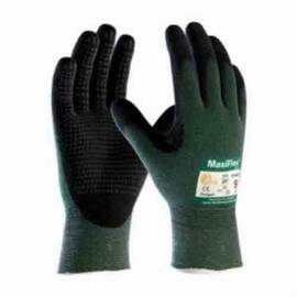 ATG® MAXIFLEX® CUT™ 34-8443/XS HIGH PERFORMANCE UNISEX CUT RESISTANT GLOVES, XS, NITRILE WITH MICROFOAM GRIP COATING, ENGINEERED YARN, CONTINUOUS KNIT WRIST CUFF, RESISTS: ABRASION, CUT, PUNCTURE AND TEAR, ANSI CUT-RESISTANCE LEVEL: A2