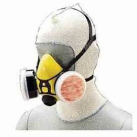 ALLEGRO® 1410 DISPOSABLE LIGHTWEIGHT SPRAY SOCKS, FOR USE WITH HALF MASK AND FULL MASK RESPIRATORS, WHITE