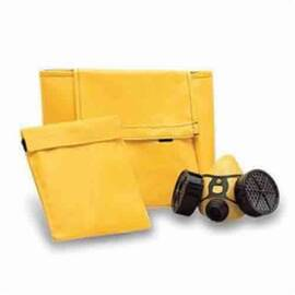 ALLEGRO® 2010 LIGHTWEIGHT REUSABLE CARRY BAG, FOR USE WITH HALF MASK RESPIRATORS, YELLOW
