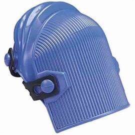 ALLEGRO® 6987 ULTRA FLEX, POLYCARBONATE CAP, EVA FOAM PAD, BUTTON CLOSURE, THERMOPLASTIC RUBBER STRAP, 2 STRAPS, BLUE
