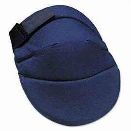 ALLEGRO® 6998 DELUXE, POLYURETHANE CAP, EVA FOAM PAD, HOOK AND LOOP CLOSURE, ELASTIC STRAP, 2 STRAPS, BLUE