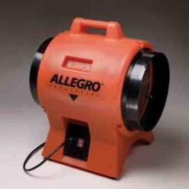 ALLEGRO® 9539-12 INDUSTRIAL STACKABLE AXIAL BLOWER, 115/230 VAC, 12 IN DIA DUCT, 2180 CFM MAX FLOW IN FREE AIR