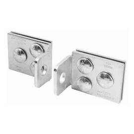 American Lock® Hole Hasp, Centered Heavy Duty, 5 in Length, 7/16 in Shackle Dia, Hardened Steel, Zinc Plated