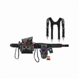 Arsenal® Installer/Drill Holder Tool Rig, Series: 5506S, L, 32 to 54 in Waist, 1680D Ballistic Polyester, Gray