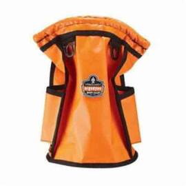 Arsenal® Parts Pouch, Topped, Series: 5538, 12 in Height, 7-1/2 in Width, Tarpaulin, Orange, 20 lb