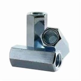 BBI 303060 Hex Regular Coupling Nut 5/8-11 In Steel Zinc Plated