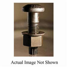 BBI 503456 Structural Bolt 1-8 In X 3-3/4 In A325 Plain Finish