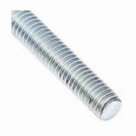 BBI 777037 All Threaded Rod 3/8-16 X 10 Ft Zinc Plated