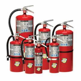 Buckeye Fire Equipment 11340 Fire Extinguisher, 10 Lb, Dry Chemical Extinguisher, 4-A:80-B:C, Class A/B/C, 21 Ft