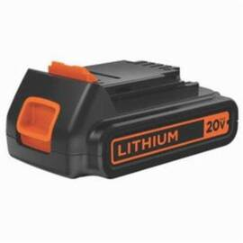 Black+Decker® Max Lbxr20 Cordless Tool Battery, 1.5 Ah Lithium-Ion Battery, 20 Vdc, For Use With Black+Decker® 20 V Max Lithium-Ion Cordless Tool