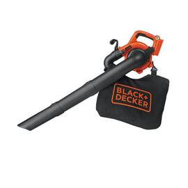 Black+Decker® Cordless Handheld Sweeper, 120 mph Air, Lithium-Ion Battery Type, 40 V Battery, 65 dB, 1 Speed, Toggle Switch Control, Soft Grip