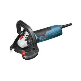Bosch Csg15 Concrete Surfacing Grinder Kit With Dedicated Dust-Collection Shroud, 5 In Dia Wheel, 120 Vac