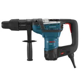 Bosch Rh540M Sds-Max® Combination Rotary Hammer Kit, Keyless Chuck, 1500 To 2900 Bpm, 170 To 340 RPM No-Load