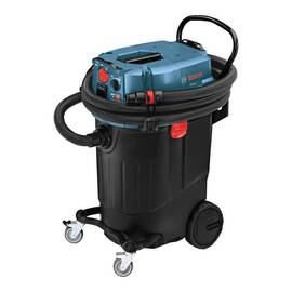 BOSCH VAC140A DUST EXTRACTOR WITH AUTOMATIC FILTER, 9.5 A, 14 GAL, 120 VAC, POLYPROPYLENE HOUSING