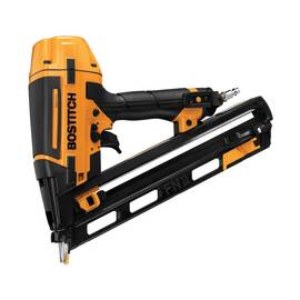 Bostitch® Smart Point® Finish Nailer Kit, Angled, Kit Tool/Kit, 1-1/4 to 2-1/2 in Fastener, Glue Collation, 129 Nails Magazine, Rear Load Loading, Contact/Sequential Actuation Trigger, Non-Marring, 1.8 scfm, 70 to 120 psi Air, 1/4 in NPT Air Inlet, Rear