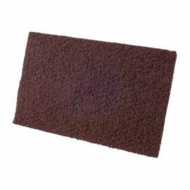 CGW® Non-Woven Hand Pad, All Purpose Economy, 9 in Length, 6 in W, Maroon Pad Color