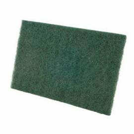 CGW® Non-Woven Hand Pad, Economy Medium Duty, 9 in Length, 6 in W, Green Pad Color