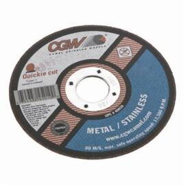 CGW® Quickie Cut™ 45010 Type 1 Straight Cut-Off Wheel 4-1/2 In Dia