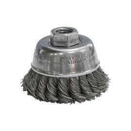 CGW® 60070 High Speed Small Grinder Premium Cup Brush 2-3/4 In Dia 5/8-11