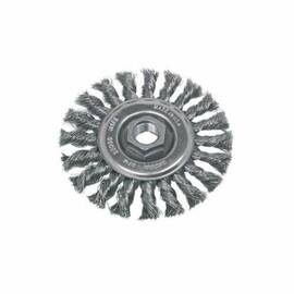 CGW® 60012 Premium Wheel Brush 4 In Dia 5/8-11 0.02 In Standard/Twist