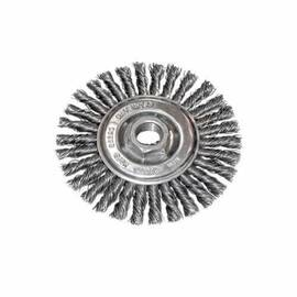 CGW® 60520 Fast Cut Wheel Brush 4 In Dia 5/8-11 0.02 In Stringer Bead
