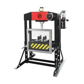CP Workshop Press, Bench Compact, 15 ton, 27.6 in Base Length, 21.3 in Base Width, 34.7 in Height, 90 psi
