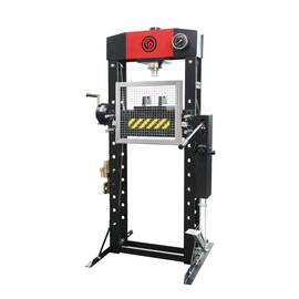 CP Workshop Press, 30 ton, 31.3 in Base Length, 27.6 in Base Width, 69.8 in Height, 90 psi