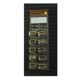 CARHARTT® CHSWD20 SLAT WALL DISPLAY, 52 IN H X 9 IN W