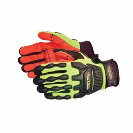 CLUTCH GEAR® MXVSBAFL/S WATERPROOF ANTI-IMPACT GLOVES, S, TPR/NEOPRENE