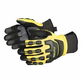 CLUTCH GEAR® MXVSBFL/L ANTI-IMPACT GLOVES, L, TPR/KEVLAR®, SLIP-ON CUFF