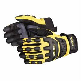 CLUTCH GEAR® MXVSB/XXL ANTI-IMPACT GLOVES, 2XL, TPR/KEVLAR®, SLIP-ON CUFF