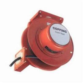 CM® Coffing® Hoists Cord Reel, For Use With: YJL, EC, JLC, CT and MT Electric Chain Hoist, #14 AWG, 4 Conductor, 45 ft L Cable, Steel