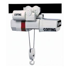 CM® Coffing® Hoists Electric Wire Rope Hoist, Single Reeving Large Frame, Series: WR Series, 3 ton, 5/16 in, 22 ft Lifting Height, 14 fpm Lift Speed, 1-Speed Control, AC Disc Type/Multiple Disc Motor/Mechanical Load Brake, 3 hp, 230/460 VAC, 9.6 A, 4.8