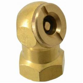 Coilhose® Ball Chuck and Clip, Closed Check, 1/4 in FPT, 300 psi, Brass, Domestic
