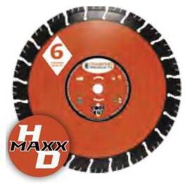 Core Cut 53743 Heavy Duty Orange Maxx High Speed Diamond Blade, 14 In Blade, Universal, 1/8 In W X 1/4 In D Cutting