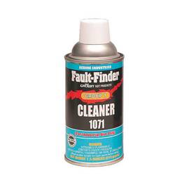 Crown® By Aervoe® 1071 Fault Finder Cleaner Group I, 12 oz Aerosol Can, Liquid, Clear, 0.7