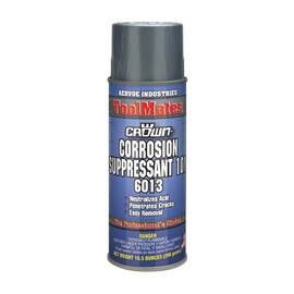 Crown® By Aervoe® 6013 101 Corrosion Suppressant, 16 oz Aerosol Can, Dark Amber, 0.7