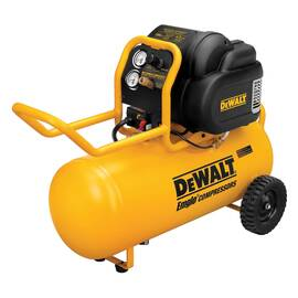 DeWALT® D55167 Heavy Duty Portable Air Compressor, 4.8 BSPP At 100 psi, 1.6 Hp, 200 psi, Horizontal 15 gal Tank