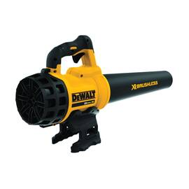 DeWALT® 20V MAX* Cordless Handheld Blower, Brushless, 400 cfm, Lithium-Ion Battery Type, 20 V Battery, 61 dB, 90 mph, Variable Speed Teasing Control