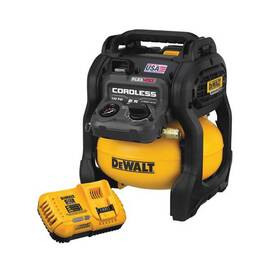DeWALT® Flexvolt® DCC2560T1 Cordless Air Compressor Kit, 1.2 SCFM At 90 psi, 0.4 Hp, 135 psi, 2.5 gal Tank