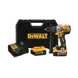 DeWalt® 20V Max* DCD996P2 Xr™ Brushless Cordless Hammer Drill Kit, 1/2 In Metal Ratcheting Chuck, 20 Vdc, Lithium-Ion Battery