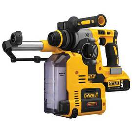 DeWalt® 20V Max* Dch273P2Dh Xr™ Brushless Cordless Rotary Hammer Drill With On Board Dust Extractor, 1 In SDS Plus Chuck, 20 V, 0 To 1100 RPM No-Load, Lithium-Ion Battery