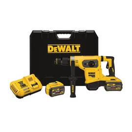 DeWalt® 60V Max* Flexvolt™ Dch481X2 Cordless Combination Hammer Drill, 1 In Sds Max® Chuck, 60 V, 540 RPM No-Load, Lithium-Ion Battery
